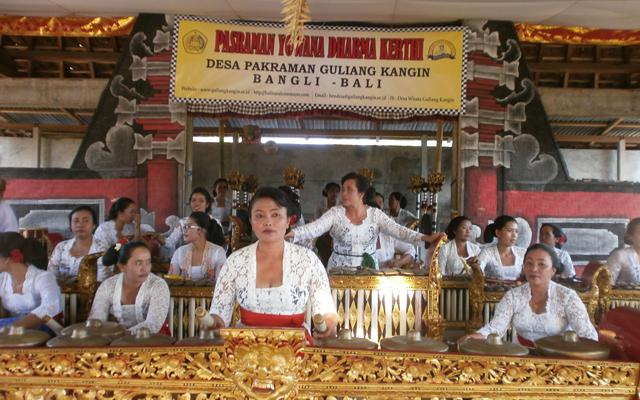 Sekaa Gong Istri