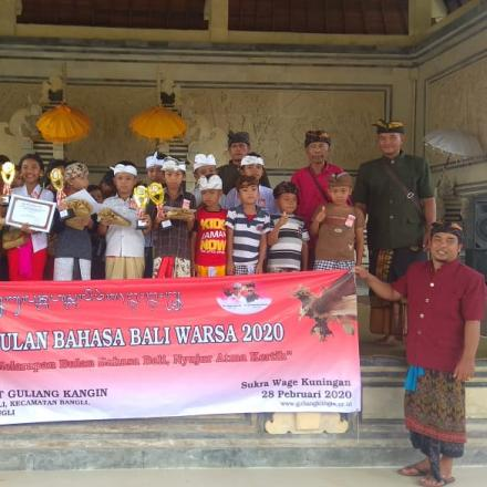 Bulan Bahasa Bali Tahun 2020